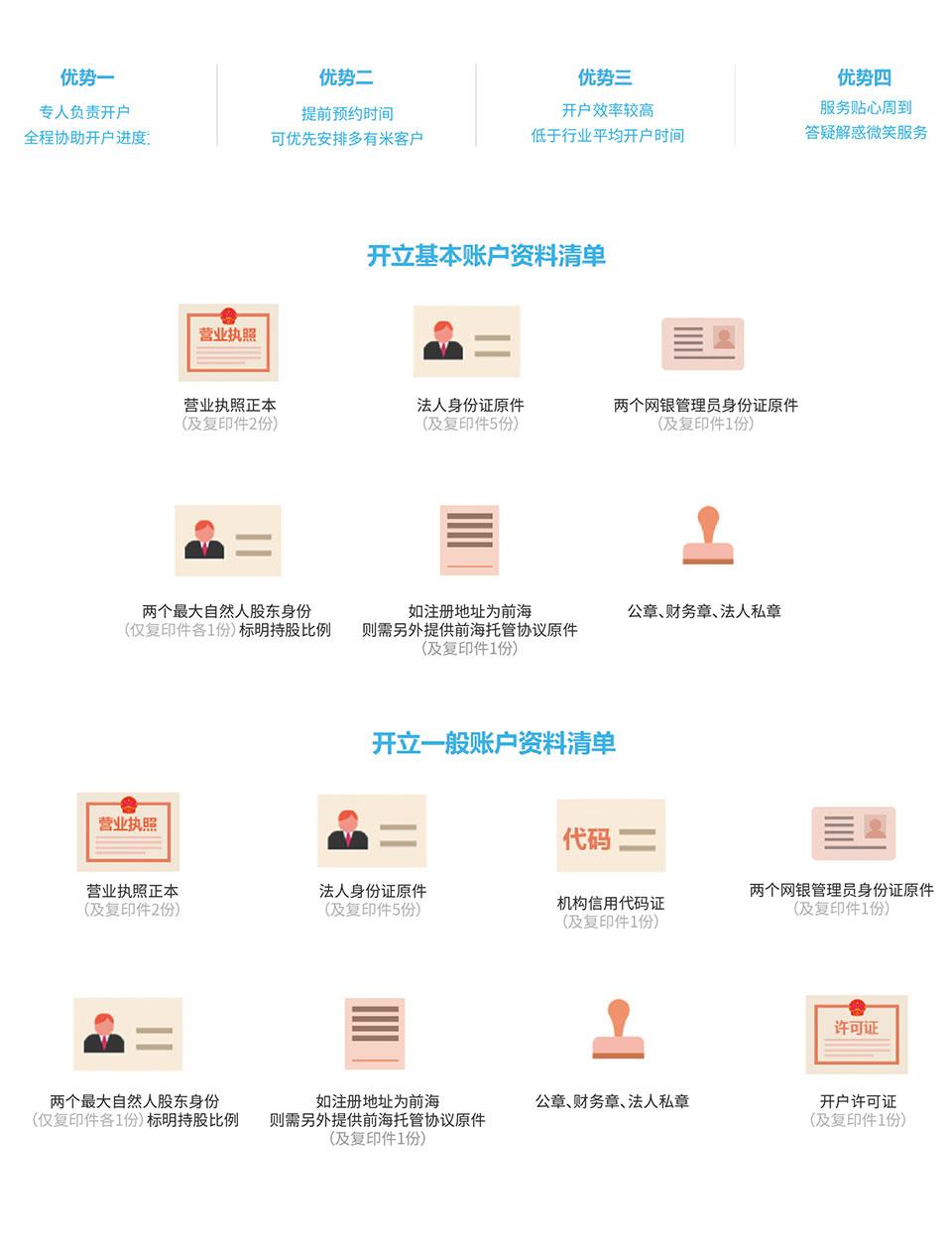 深圳銀行開戶和代理記賬